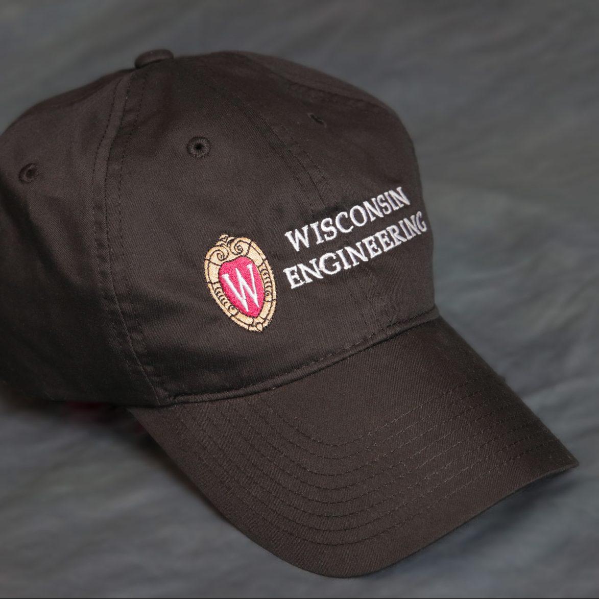 College of Engineering cap in black