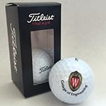 two-pack Titleist golf balls