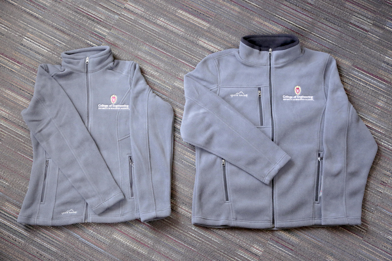 Photo of fleece jackets